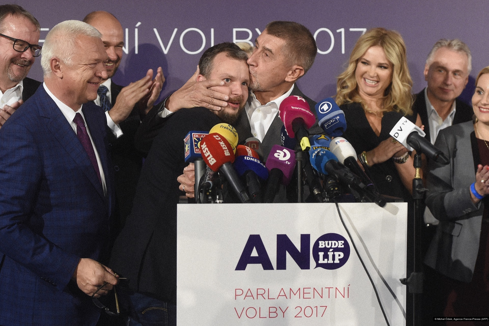 Michal Čížek, Agence France-Presse (AFP)