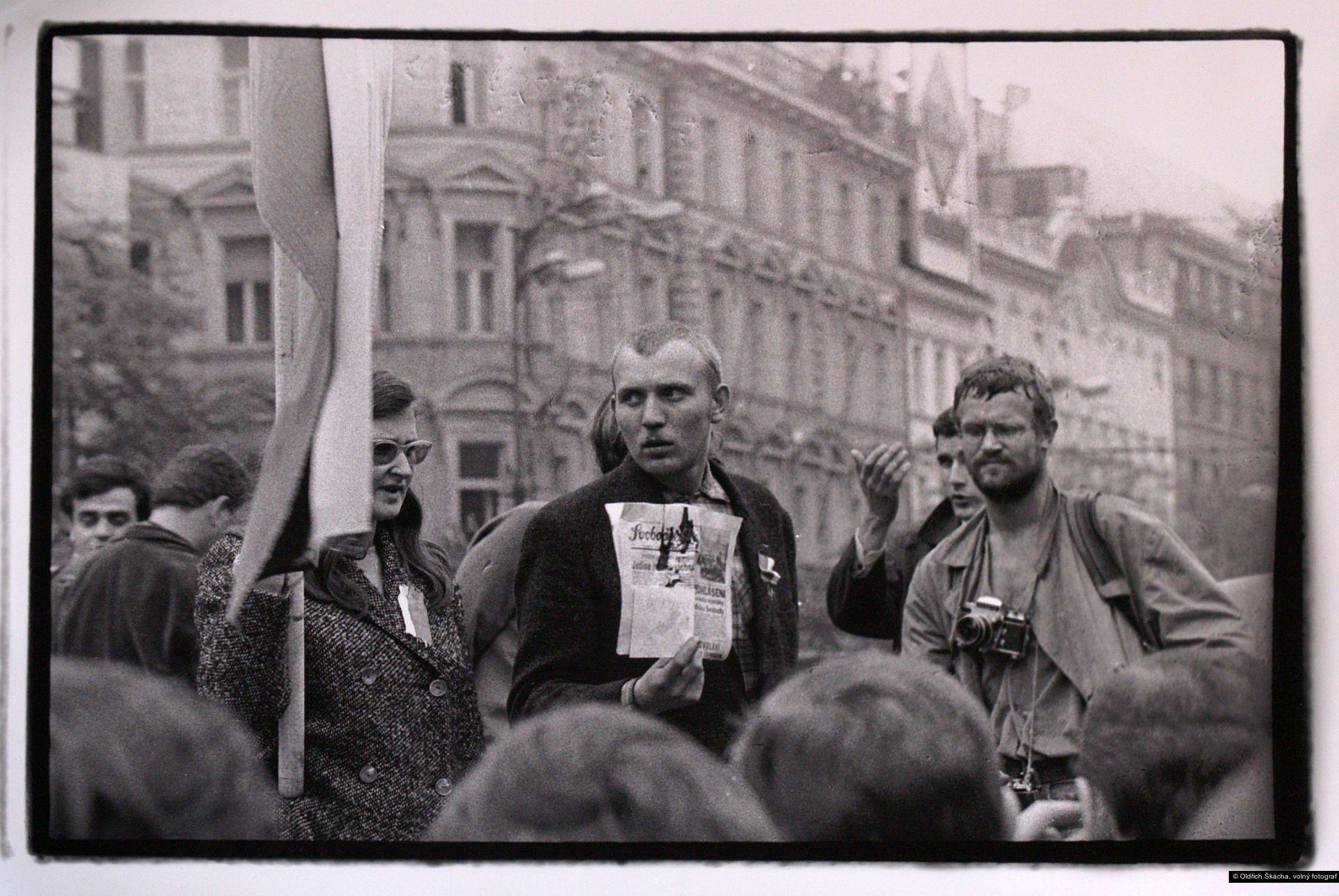Oldřich Škácha, volný fotograf