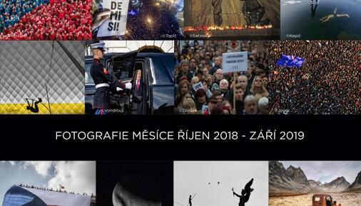 Přehled Fotografií měsíce uplynulého ročníku