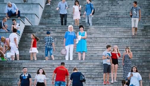 Příběhy fotografií: Jan Hromádko – Potěmkinovy schody