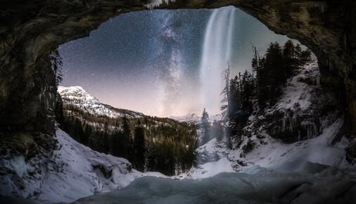 Příběh fotografie – Jiří Benda – Zamrzlý vodopád