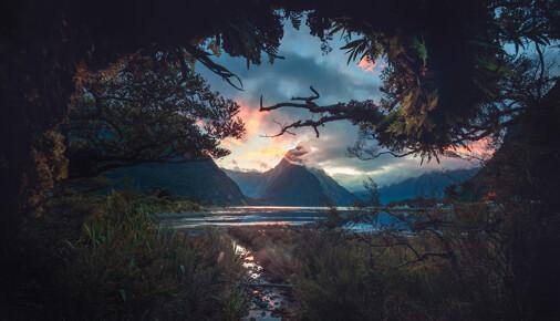 Příběh fotografie Josef Mandinec – Milford Sound