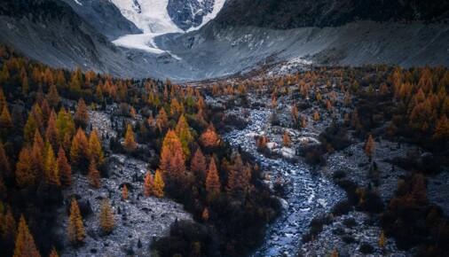 Příběh fotografie – Lukáš Veselý – údolí Morteratsch
