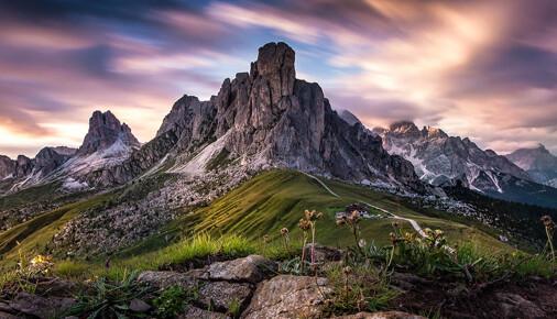 Příběh fotografie – Tomáš Frolec – Passo Giau #2