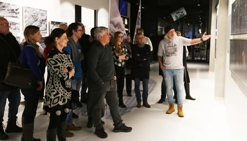 Komentovaná prohlídka výstavy Václava Šilhy Na vlnách fotografie