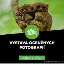 Czech Nature Photo 2018 výstava fotografií přírody celého světa