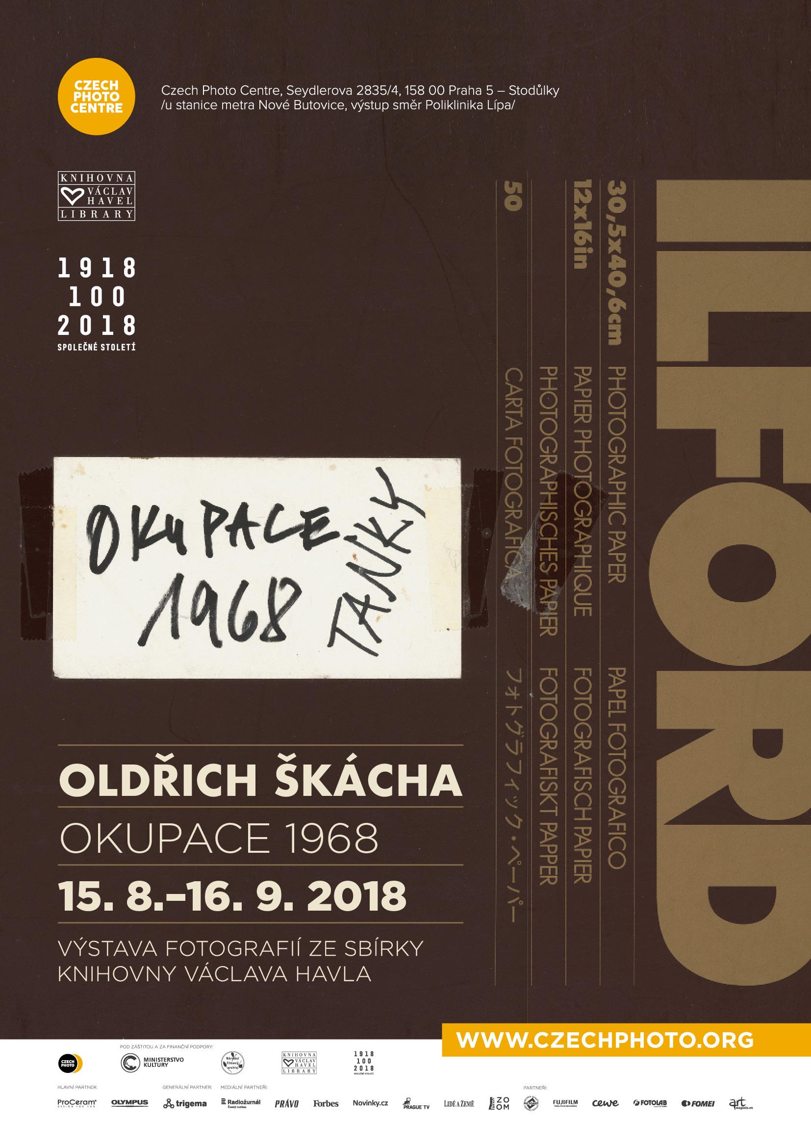 Oldřich Škácha - Okupace 1968